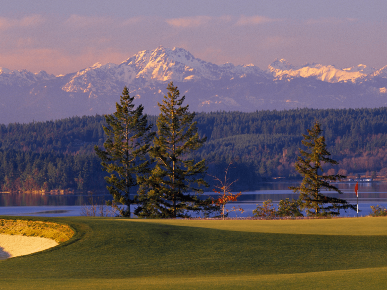 Mountain Landscape -Washington State Golf Association | Buffalo.Agency