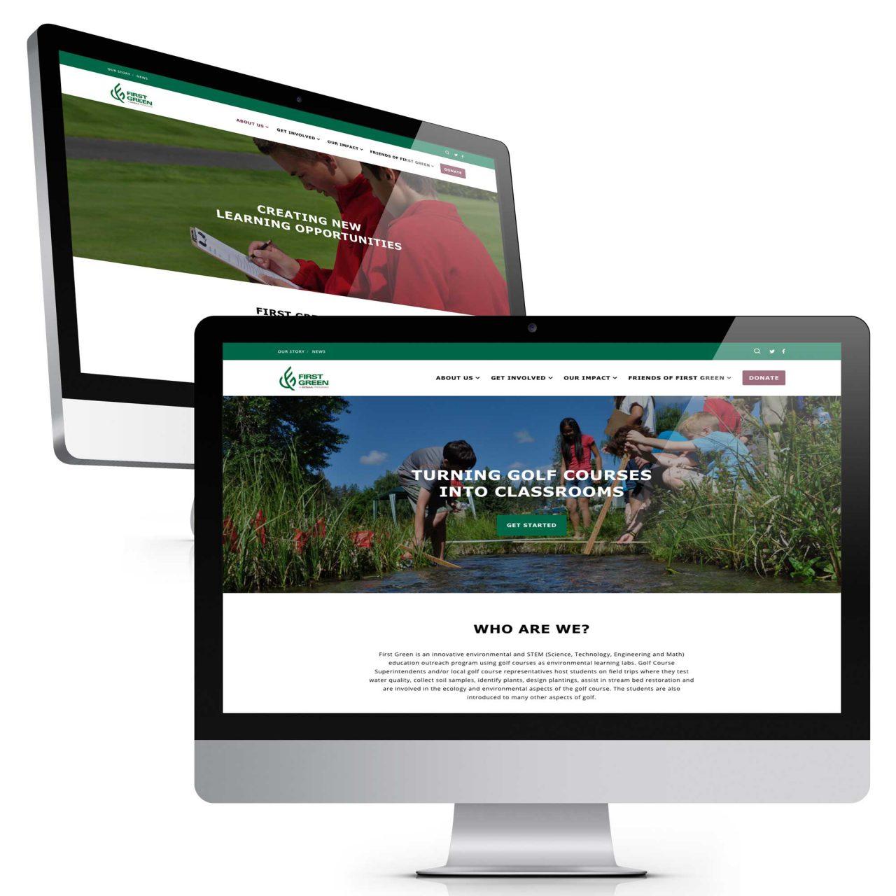 First Green Web Redesign | Buffalo.Agency