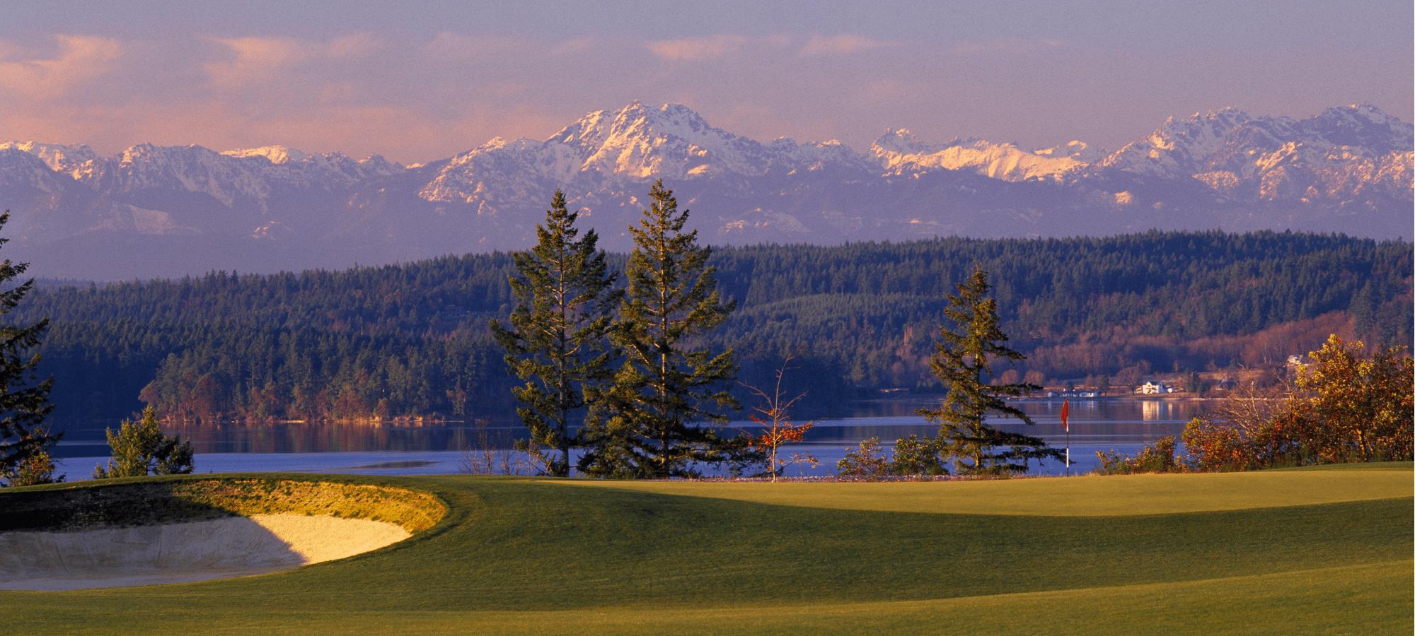 Mountain Landscape -Washington State Golf Association   Buffalo.Agency