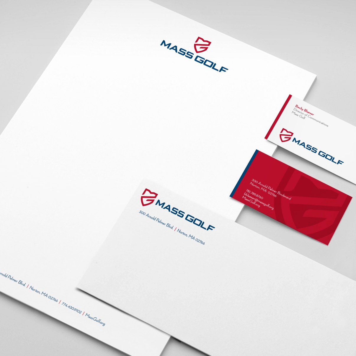 Mass Golf Company Stationary | Buffalo.Agency