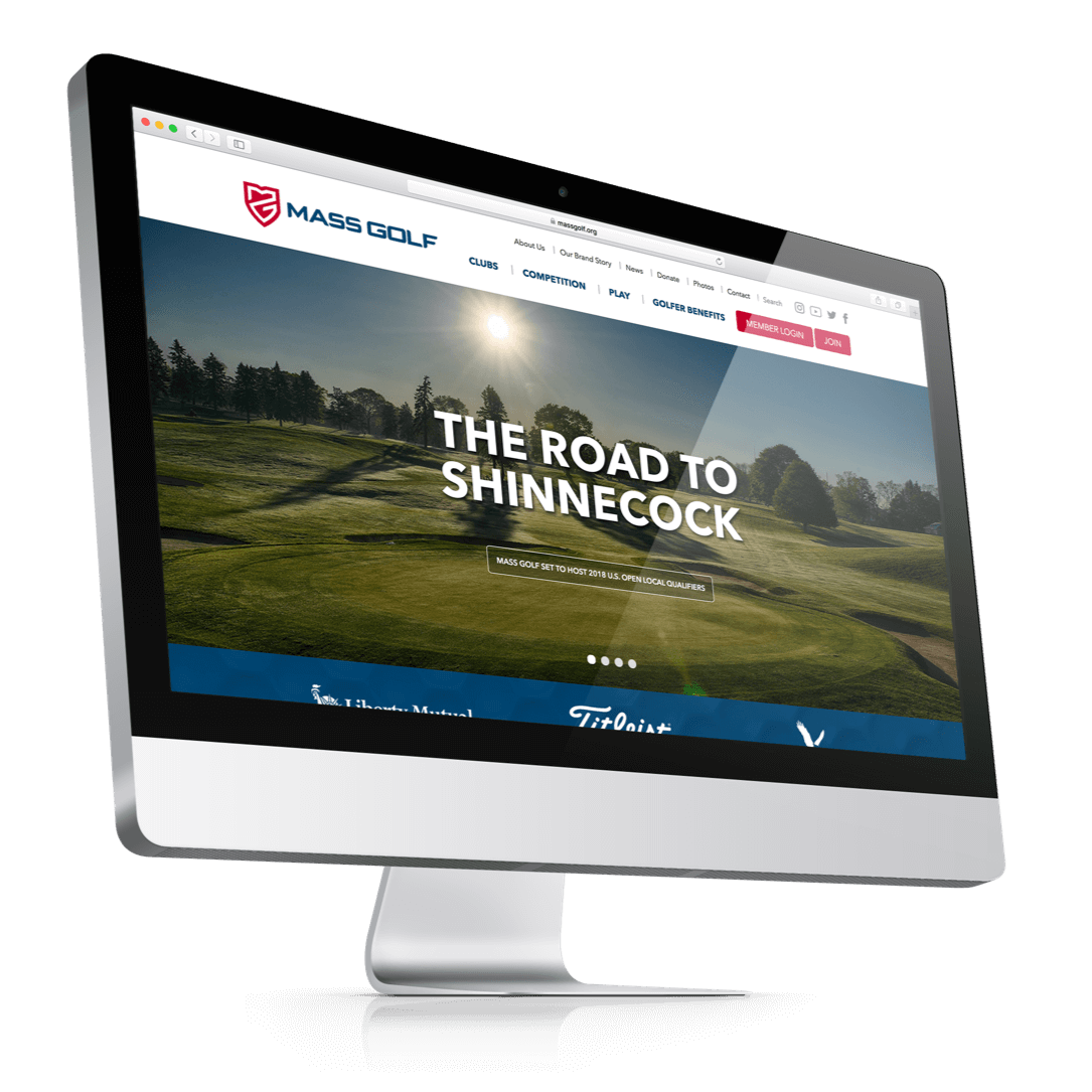 Mass Golf Website | Buffalo.Agency