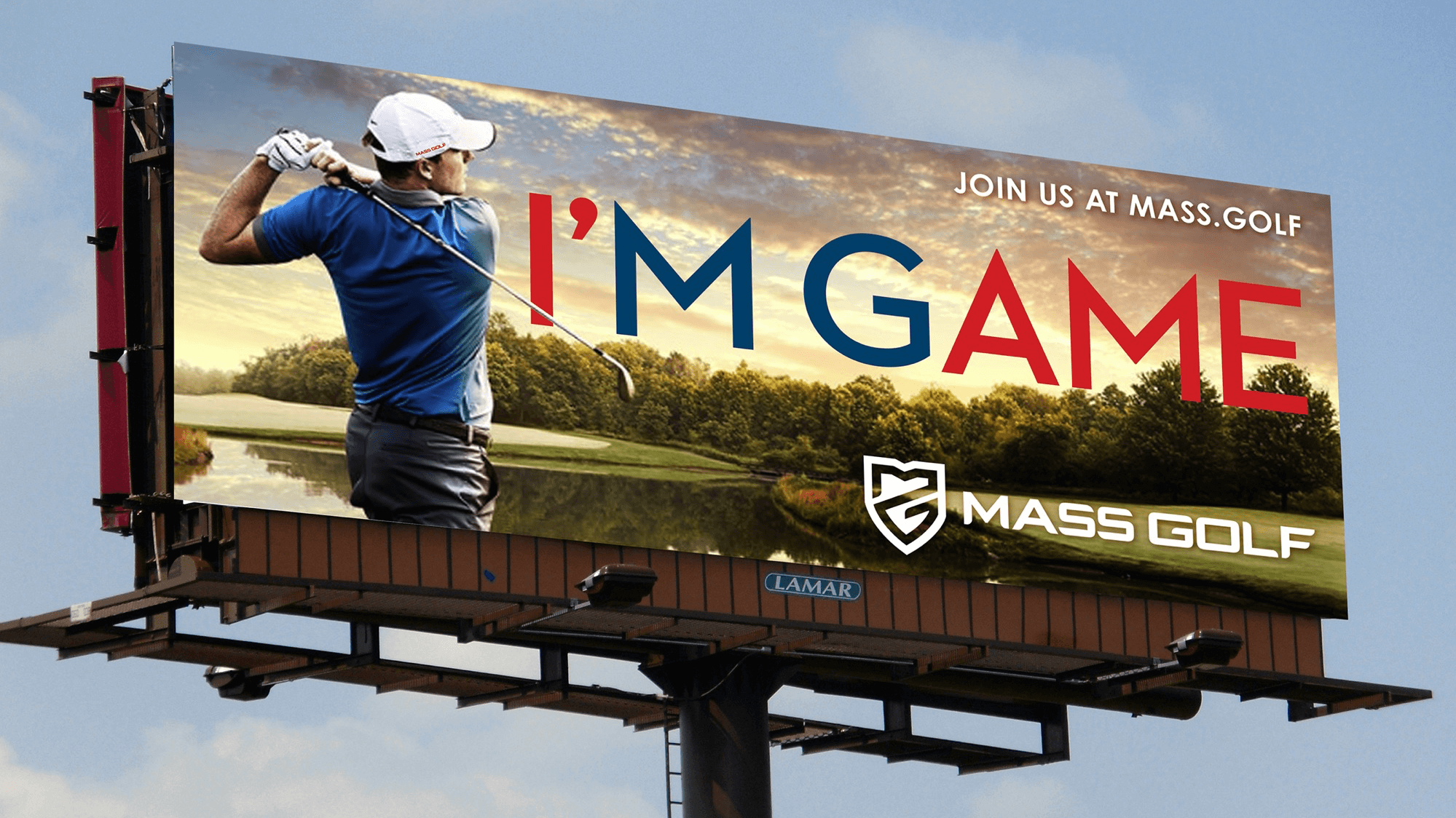 Mass Golf Billboard | Buffalo.Agency
