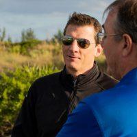 Derek Koenig Talking With Client